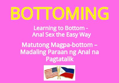 Learning to Bottom – Anal Sex the Easy Way (English/Tagalog)