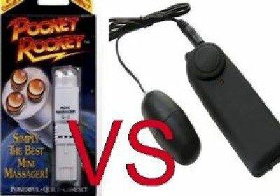 bullets vs the pocketrocket or pocket rocket