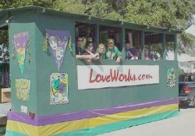 Celebrating Mardi Gras - LoveWorks style