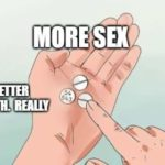 More Sex - Better Health.  You Read It Here.