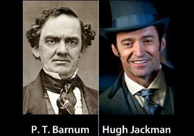PT Barnum: Hugh Jackman in the Greatest Showman