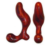 wooden butt plug